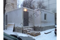 Вентиляция в помещении лаборатории при больнице, Москва, Загородное шоссе