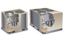 Монтаж компрессорно-конденсаторного блока