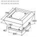 Вентилятор крышный KORF KW 56/40-4D